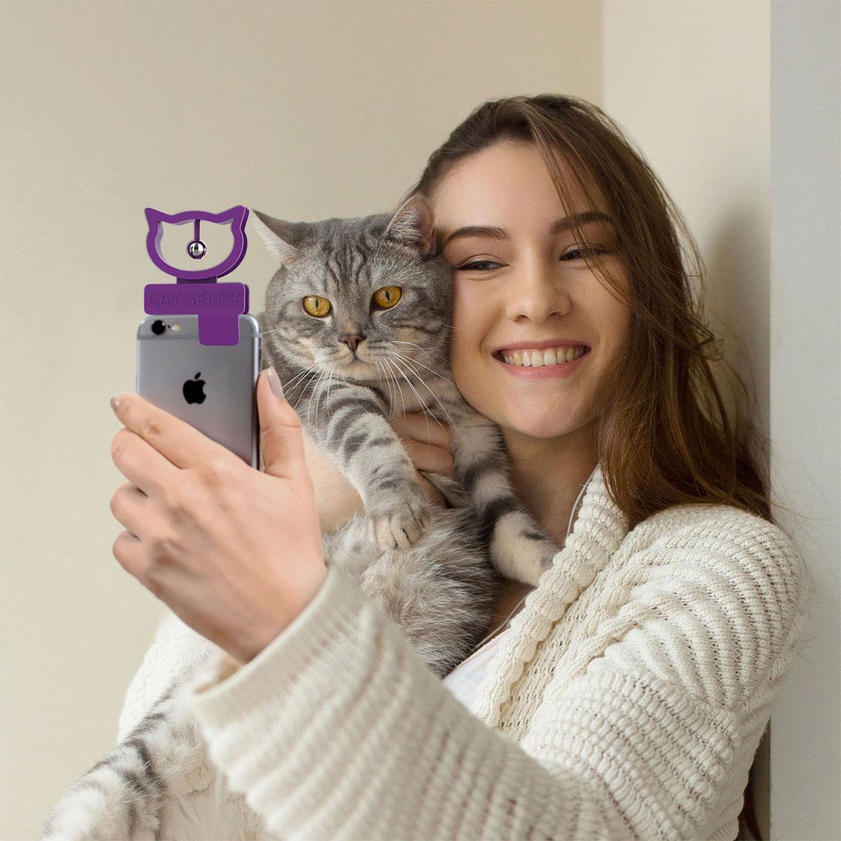 Katzen Selfie Aufsatz
