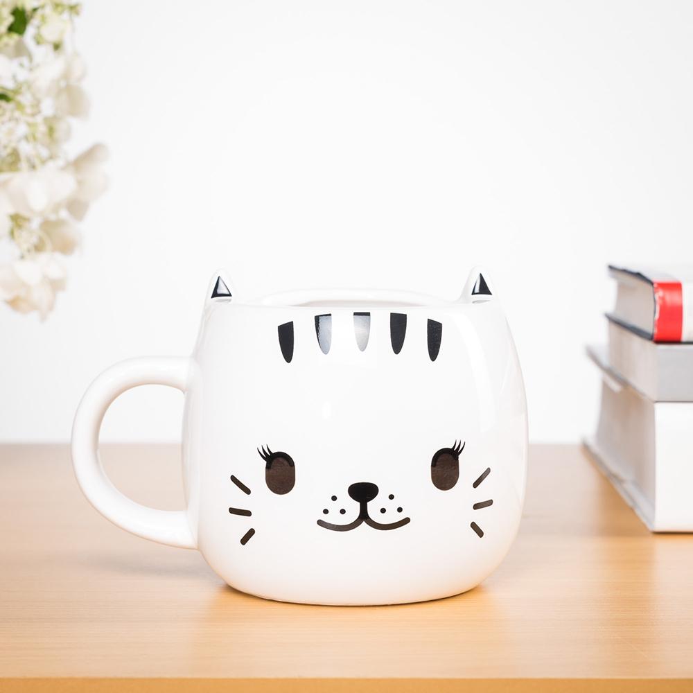 Wärmeempfindliche Katzen Tasse