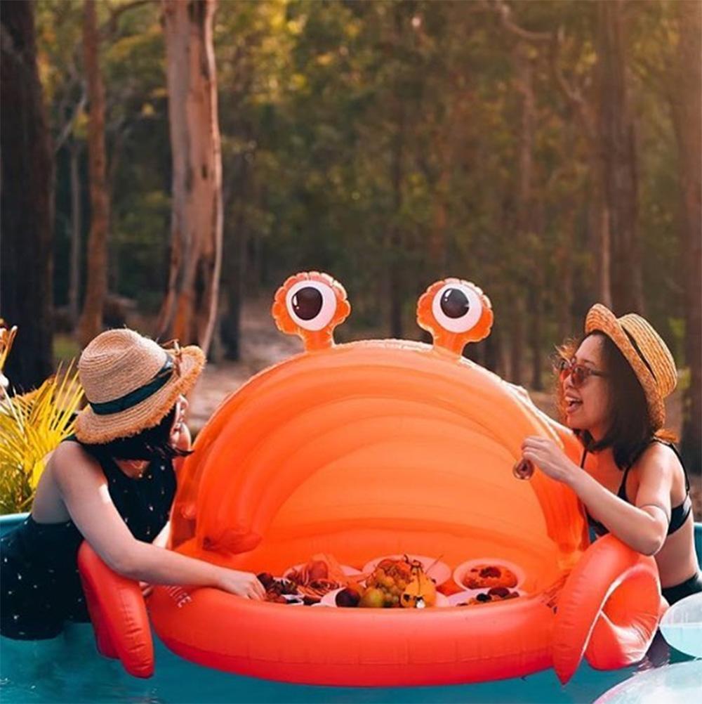 Aufblasbare Krabbe für Kinder