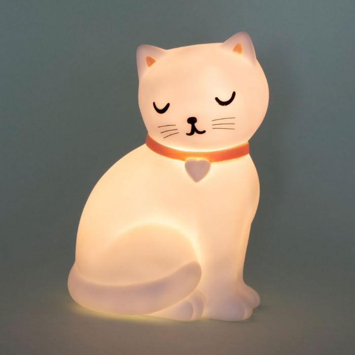 Süße Katze Nachtlicht