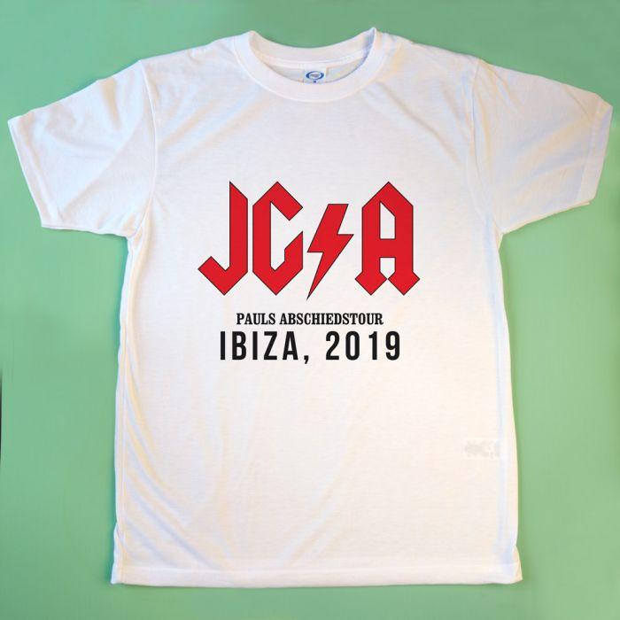 Personalisierbares T-Shirt mit Text