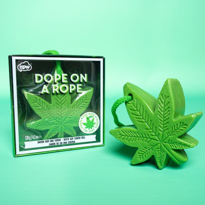 Cannabis-Blatt Seife