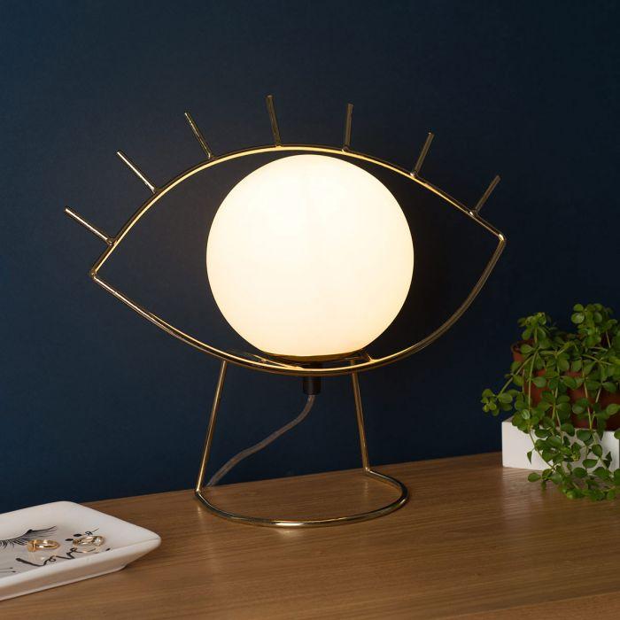 Golden Eye Lampe