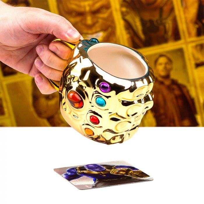 Avengers Infinity War Handschuh-Tasse