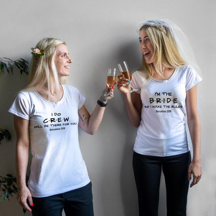 Personalisierbares T-Shirt zur Hochzeit