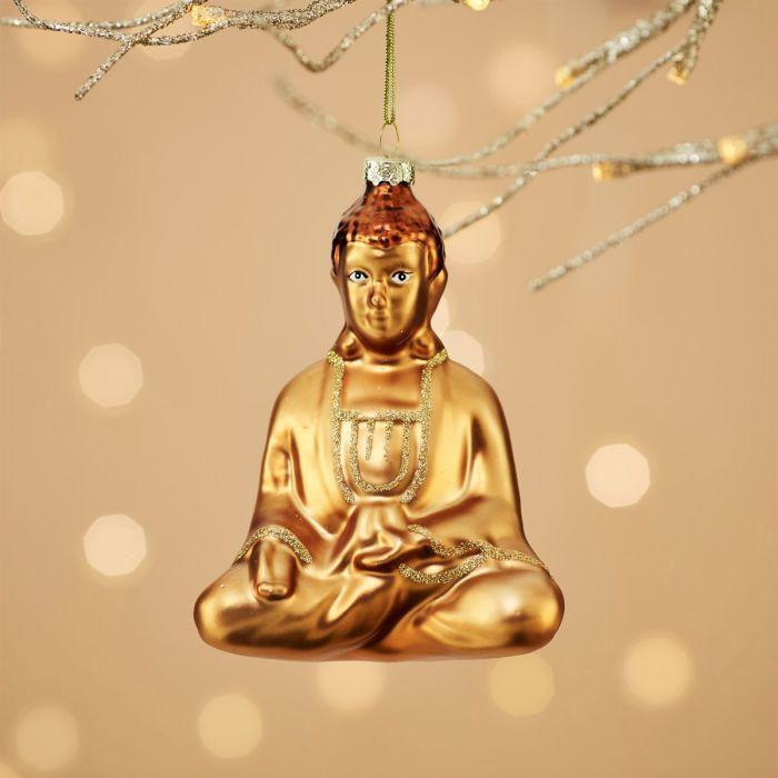 Glücklicher Buddha Christbaumschmuck