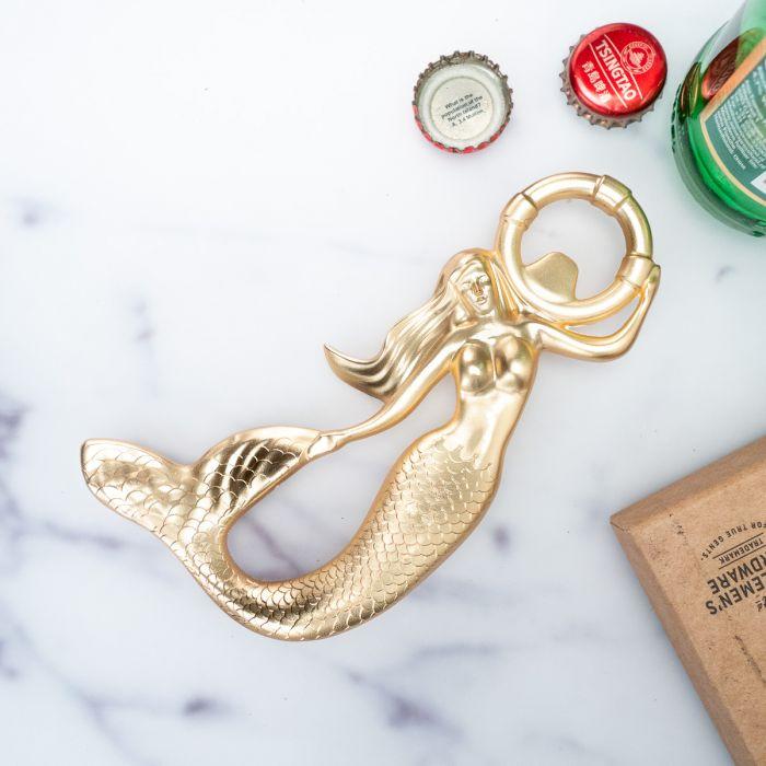 Flaschenöffner Meerjungfrau