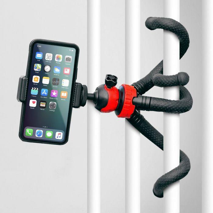 Oktopus Smartphone- und Kamera-Stand