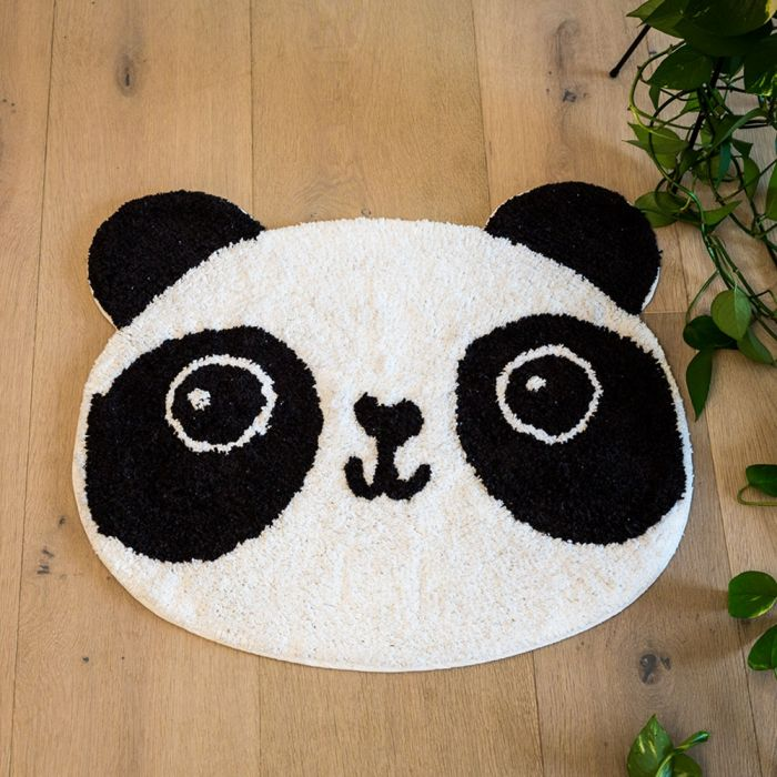 Panda Badezimmerteppich