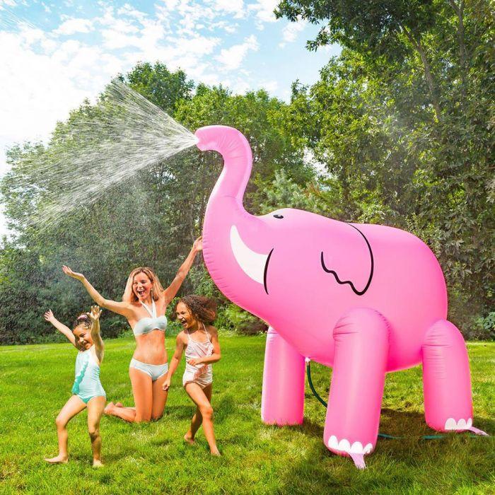 Rosa Elefant Riesen-Sprinkler