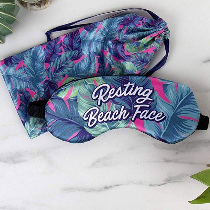 Strand Schlafmaske mit Beutel