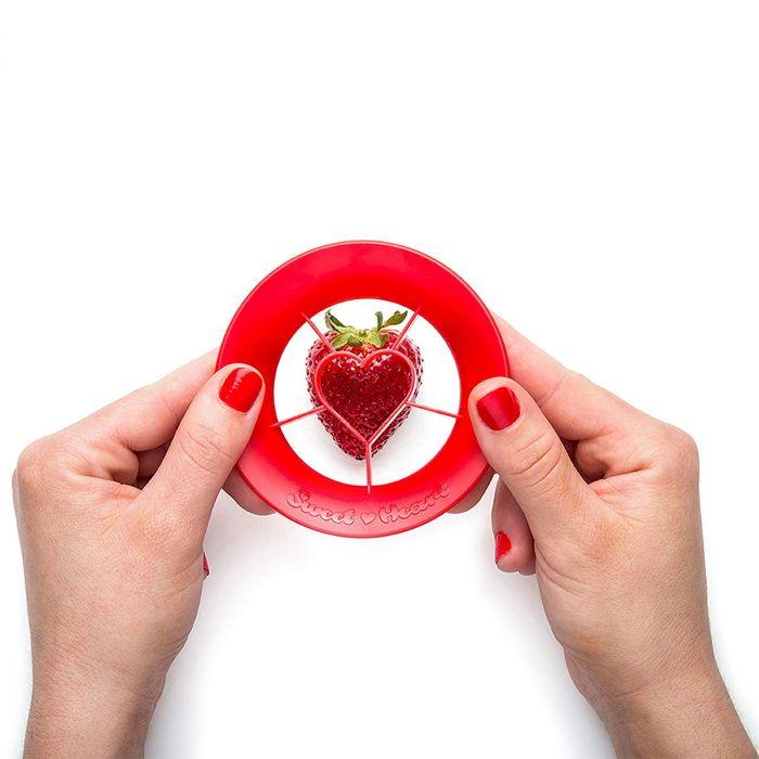 Sweet Heart Erdbeerschneider