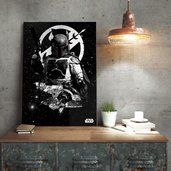Slave 1-Poster Swslav_star_wars_metallposter_slave_1