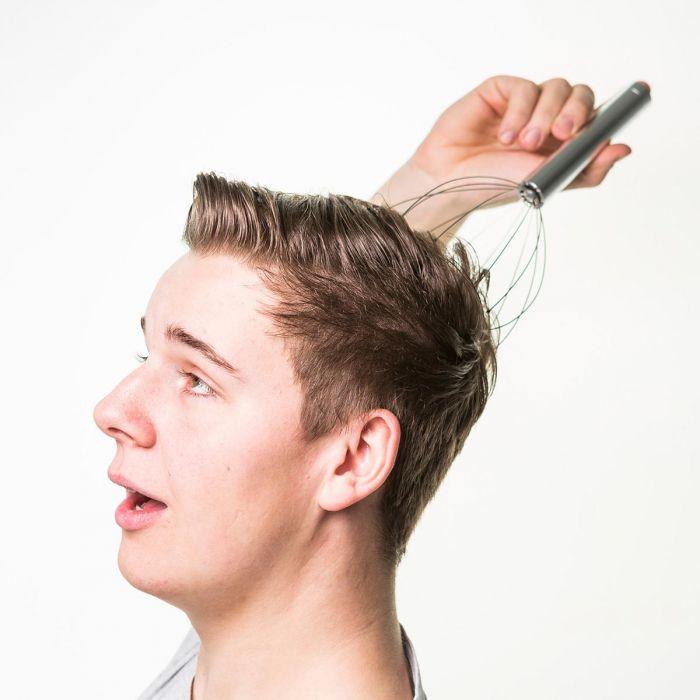 Orgasmatron - Vibrierendes Kopfmassage Gerät