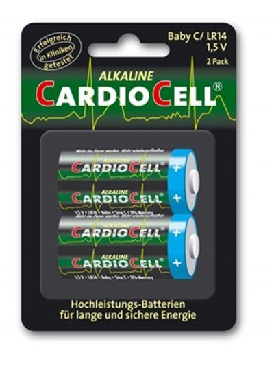 Cardiocell Batterie Baby C-LR14 2er Pack