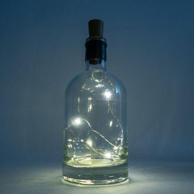 Lichterkette in der Flasche