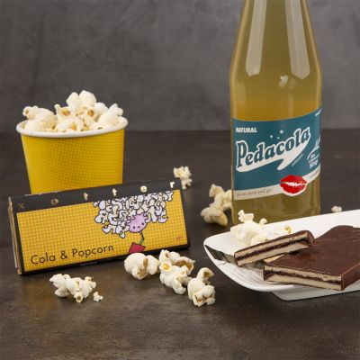 Zotter Schokolade Cola & Popcorn