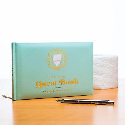 Das Gästebuch für die Toilette