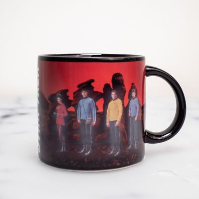 Star Trek Beamen Tasse mit Wärmeeffekt
