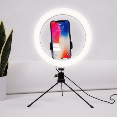 Selfie-Stativ mit LED-Ring