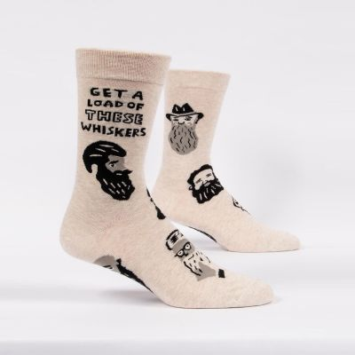 Get A Load Of These Whiskers Herrensocken