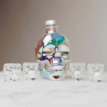 Crystal Head Aurora Wodka Geschenk-Set