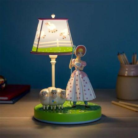 Toy Story Porzellinchen Lampe mit Figur