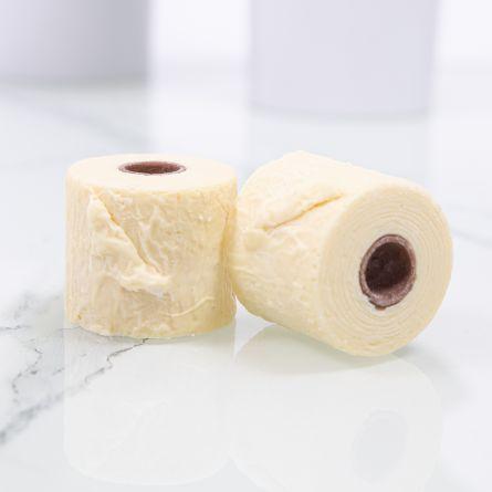 Schokolade-Toilettenpapier 2 Mini-Rollen