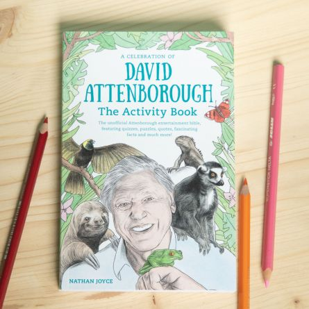 David Attenborough Activity Book