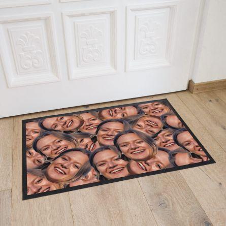 Fußmatte mit Multi-Gesicht