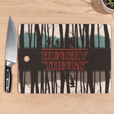 Schneidebrett Hungry Things