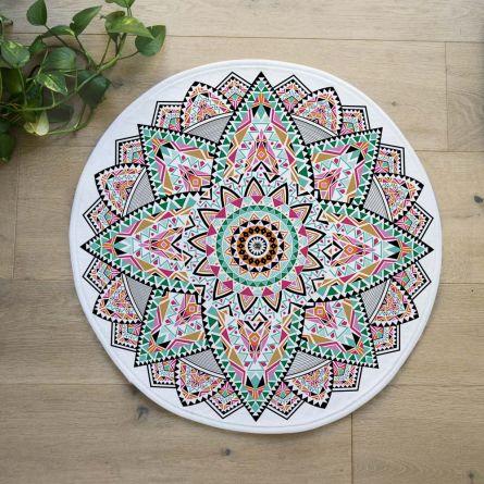 Mandala Badezimmermatte