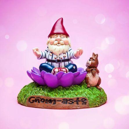 Meditations-Gartenzwerg