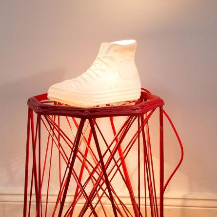 N.Y.C. Porzellan Lampe