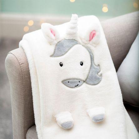 Einhorn Baby Decke