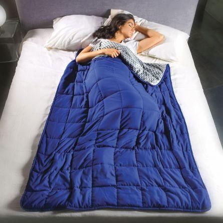 Calmya Gewichts-Decke mit Entspannungs-Funktion