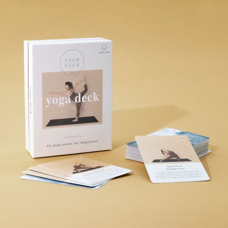 Yoga Kartenset für 52 Wochen