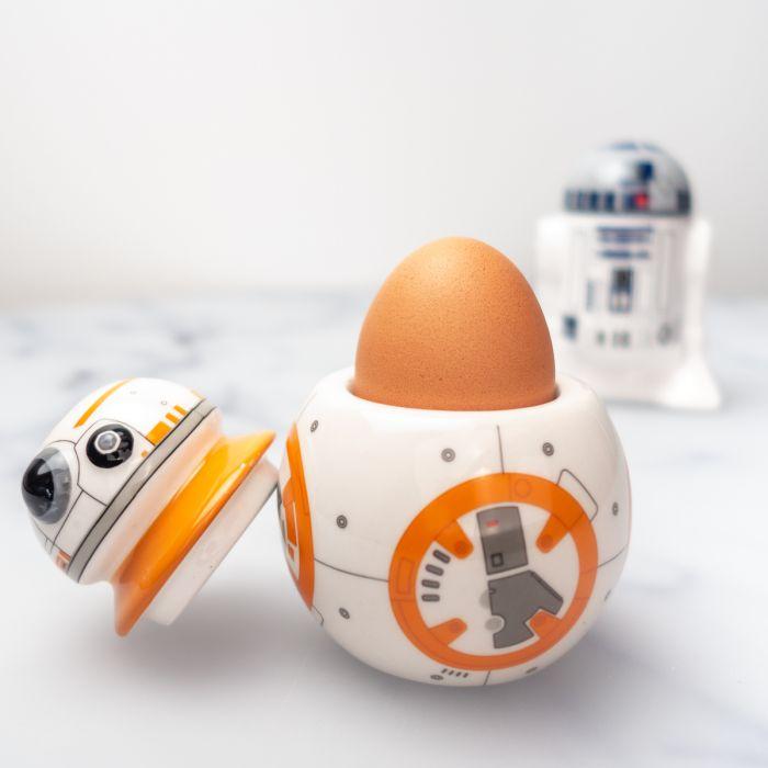 Star Wars Eierbecher-Set BB-8 und R2D2