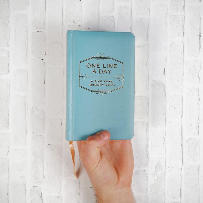 One Line A Day - Tagebuch für fünf Jahre