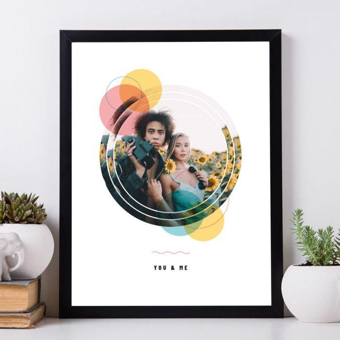 Personalisierbares Foto Poster