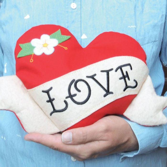 Erwärmbares Kuschel-Herz