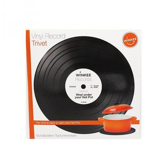 Schallplatten Topfuntersetzer