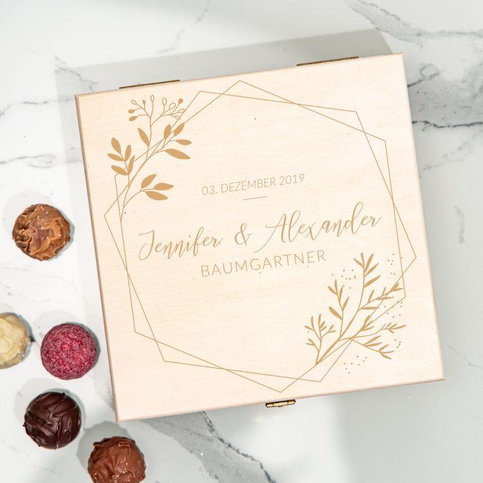 Pralinenbox für Paare