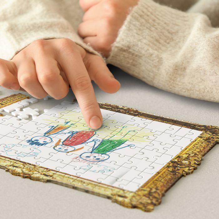 Do It Yourself Puzzle Kinderzeichnung