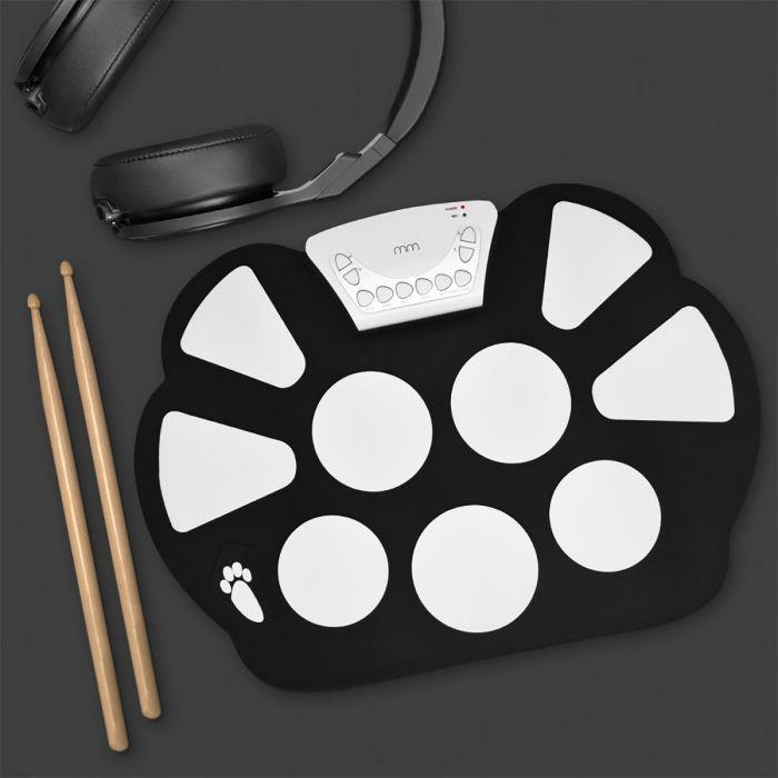 Roll Up Drum Kit - Zusammenfaltbares Schlagzeug