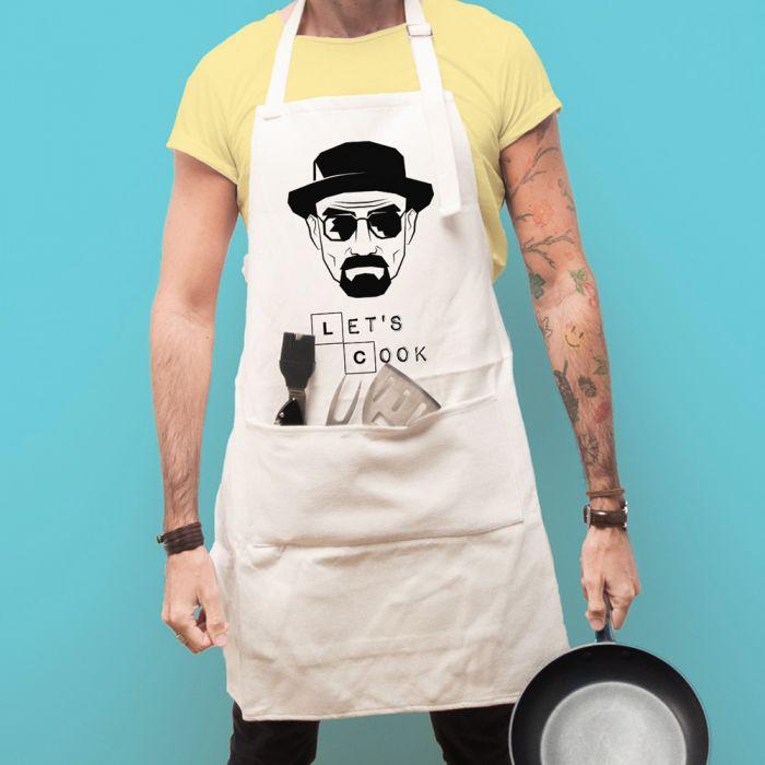 Küchenschürze Let's Cook