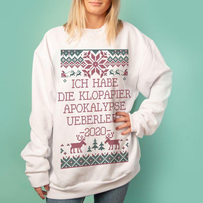 Sweater im Weihnachts-Look