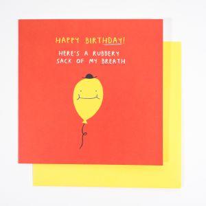 Geburtstagskarte Balloon