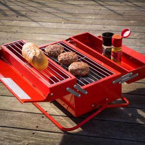 Werkzeugkasten Grill