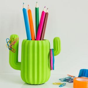 Kaktus Schreibtisch Organizer
